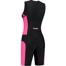 Dare2Tri Combinaison avec zip sur le devant Femme, black/pink